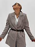 """Женский стильный пиджак (блейзер) свободного кроя в стиле """"с мужского плеча"""" (в расцветках), фото 9"""