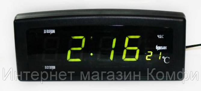🔥✅ Электронные настольные часы CX-818 LED часы Caixing