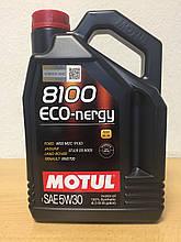 Масло Motul 8100 Eco-Nergy 5W-30 4л (104257)