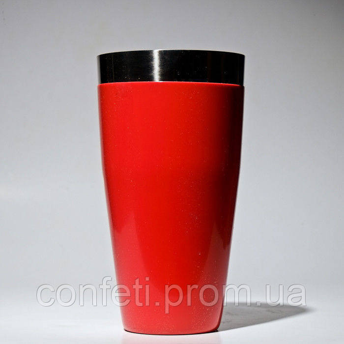 🔥✅ Шейкер Бостон Empire ЕМ 2524 с красным виниловым покрытием