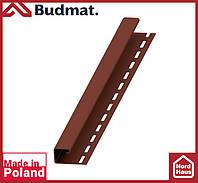 J-планка Budmat ( коричневый ).J-trim будмат 3 м.