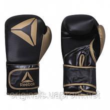 Перчатки для бокса Reebok Boxing Black Gold CK7832  - 2019/2