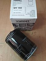 """Фильтр масляный VW Transporter T4 2.4D-2.5TDi, VW Golf III 1.9 TDI 1991-1999, AUDI A4, A6; """"WUNDER"""" WY-102, фото 1"""