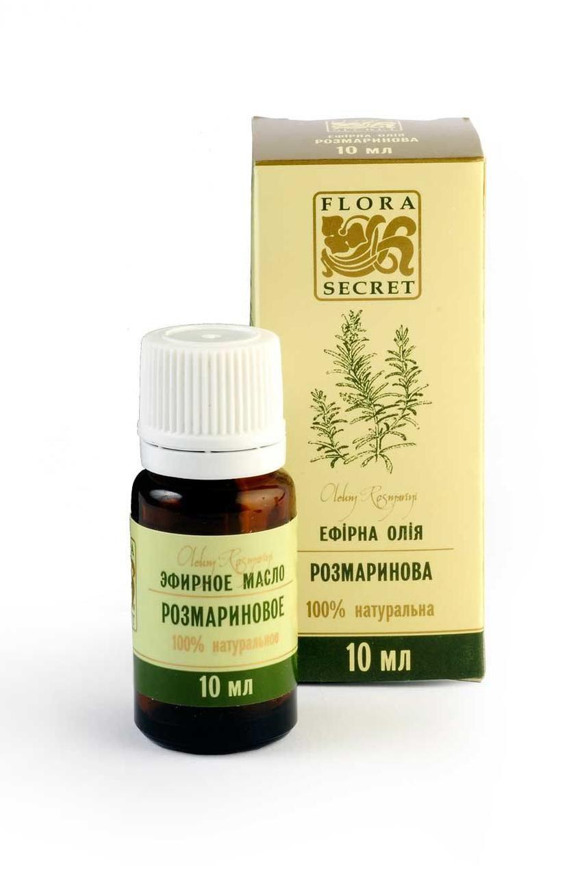 Эфирное масло розмариновое, Flora Secret, 10 мл