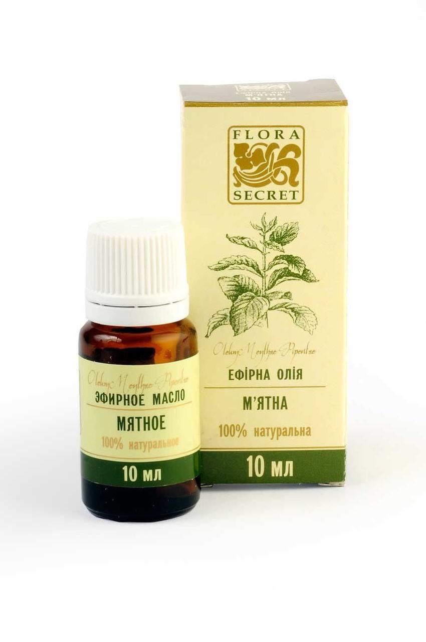 Эфирное масло мяты перечной, Flora Secret, 10 мл