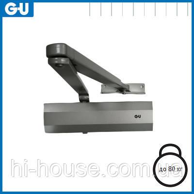 Доводчик GU OTS 210 (коленная тяга) серый