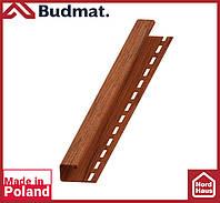 J-планка Budmat ( орех ).J-trim будмат 3 м.