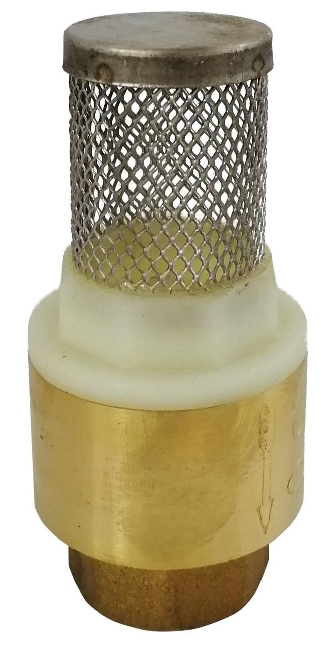 Клапан обратного хода воды Solomon 003603 с с сеткой 1 1/4'