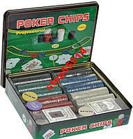 Покерний набір на 500 фішок, фото 1