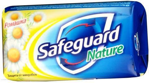 Мыло туалетное Safeguard 90 г Ромашка