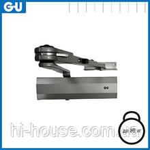 Доводчик GU OTS 210 (коленная тяга фиксацией) серый