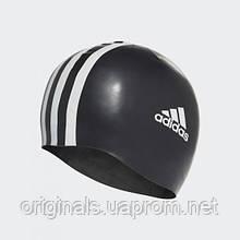 Плавательная шапочка Adidas 3-Stripes Silicone 802310 - 2019/2