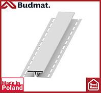 H-планка Budmat ( белый ). Планка соединительная будмат 3 м.