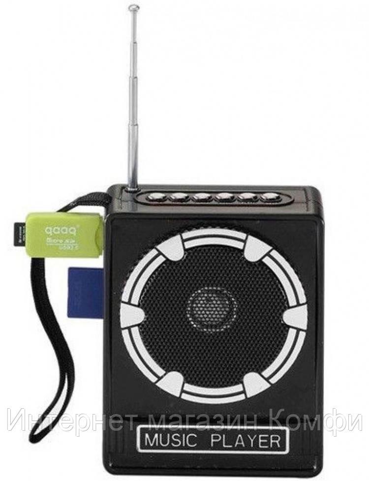 🔥✅ Радиоприемник NNS NS-017U колонка FM радио