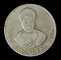 Монета Свазиленда 1 лилангени 1996 г.