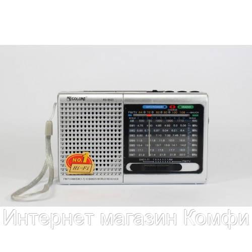 🔥✅ Бумбокс MP3 Golon RX-6633 колонка радиоприемник RX-6622
