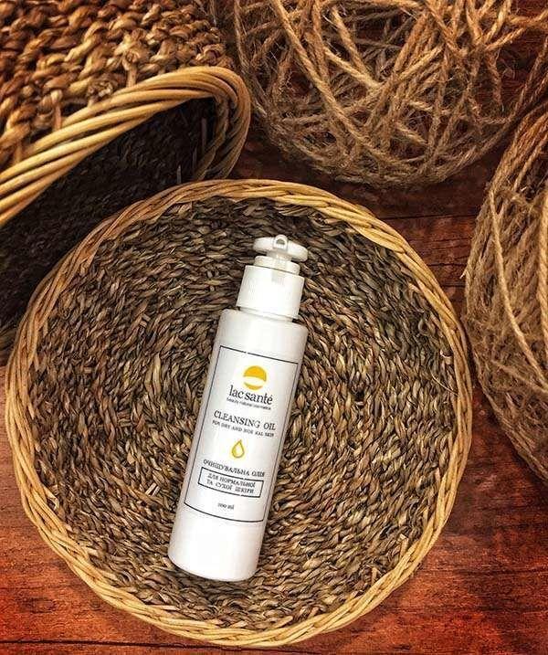 Очищающее гидрофильное масло для нормальной и сухой кожи Lac Sante, 100 мл