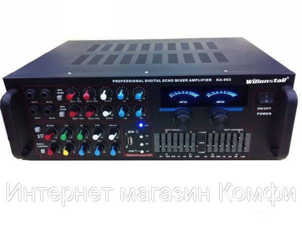 🔥✅ Беспроводной усилитель мощности звука UKC AV-326BT Bluetooth