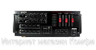 🔥✅ Усилитель мощности звука AKAI AMP AK3000 220V 12 V
