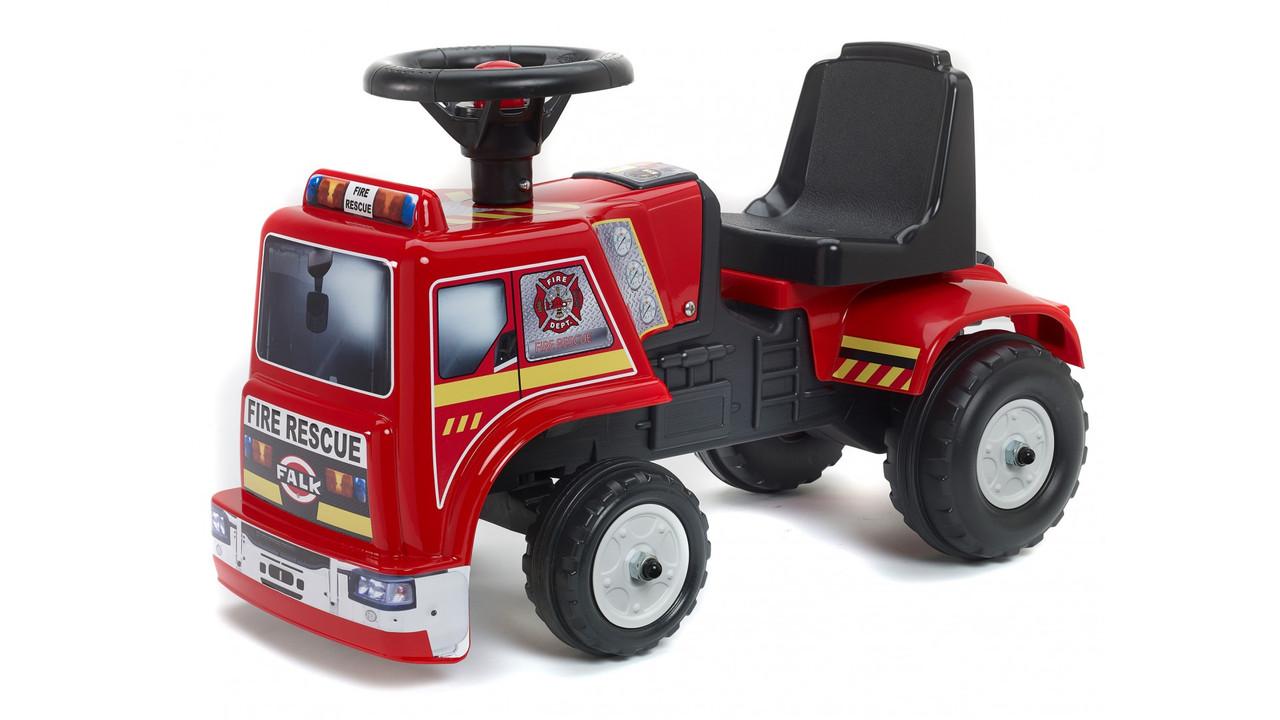 Детская машинка каталка толокар Falk 1018 пожарная машина