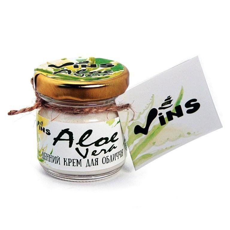 Крем дневной для лица Aloe Vera, Vins, 40 мл