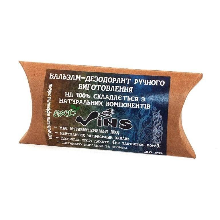 Бальзам с дезодорирующим действием полынь и лаванда стик, Vins, 30 г