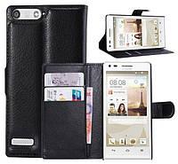 Чехол-бумажник для Huawei Ascend G6-u10