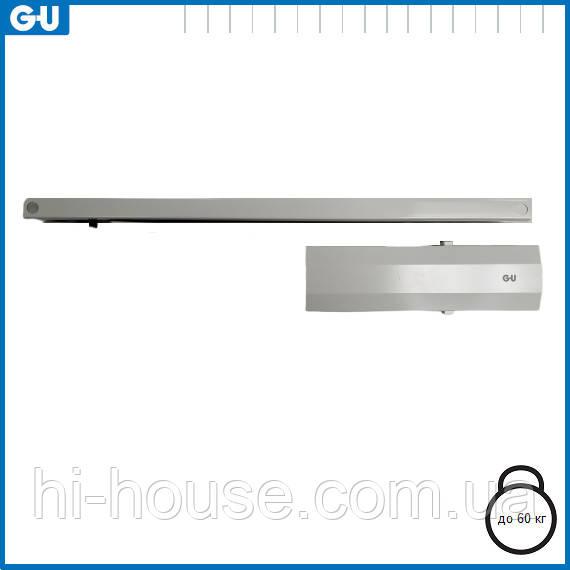 Доводчик GU OTS 210 (тяга з фіксацією) білий