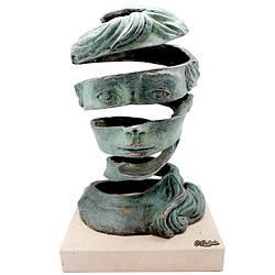Фигура из бронзы «Воображение» Anglada, h-23х23х35см ( 322a.1)