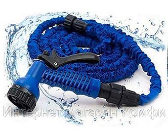 🔥✅ Садовый шланг для полива Xhose 30 Метров 100FT с распылителем X-Hose 30м