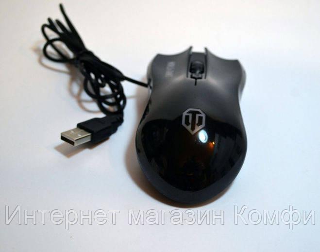 🔥✅ Мышка проводная M31 для компьютера и ноутбука , USB, World of Tanks