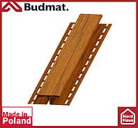 H-планка Budmat ( золотой дуб ). Планка соединительная будмат 3 м.