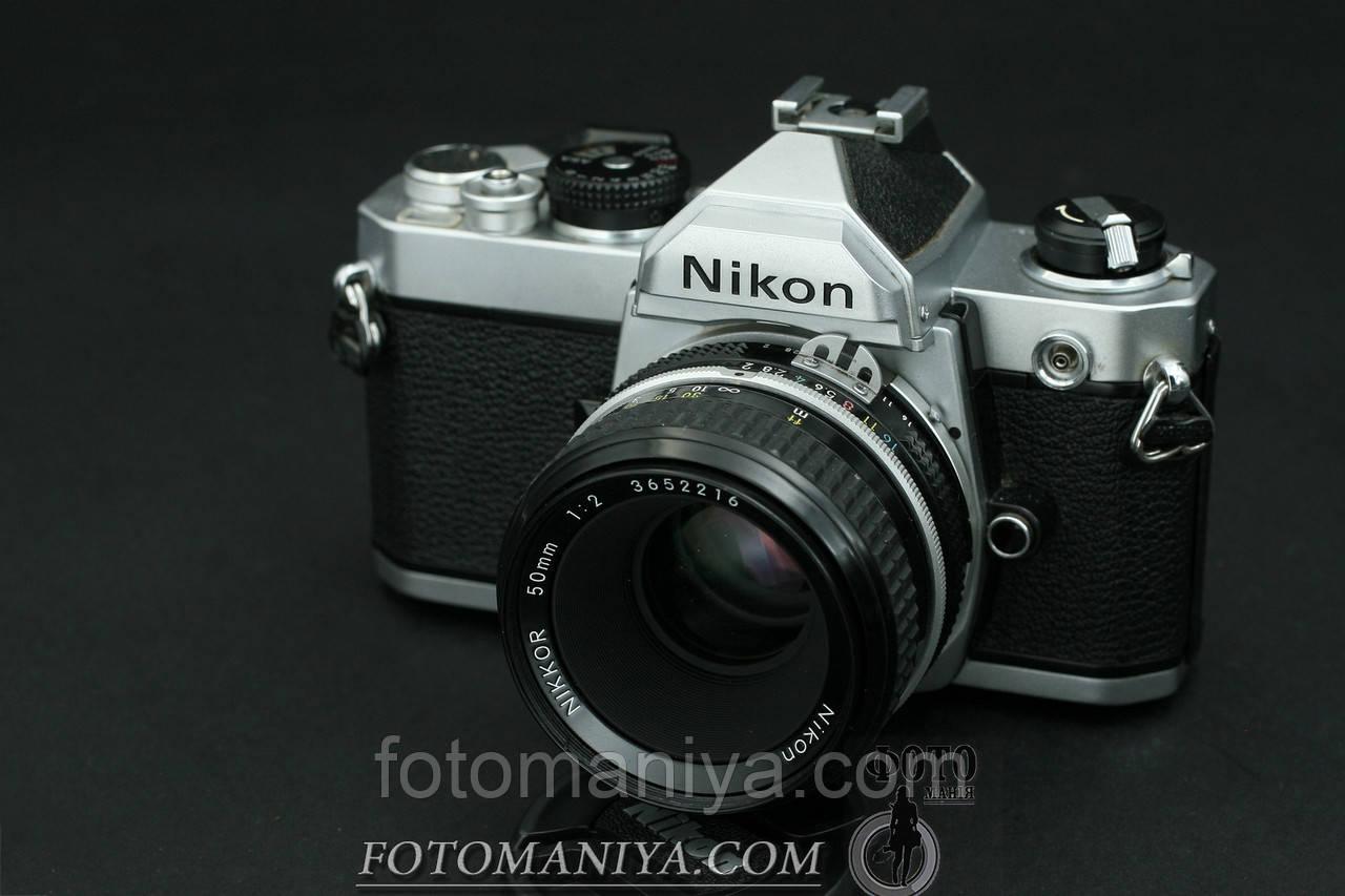 Nikon FM kit Nikkor 50mm f2.0 Ai