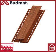 H-планка Budmat ( орех ). Планка соединительная будмат 3 м.