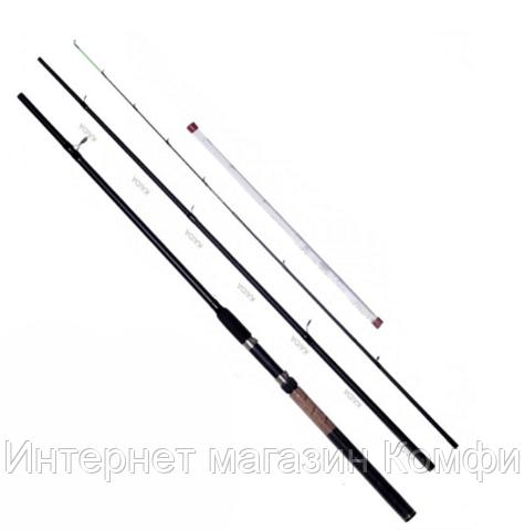 🔥✅ Рыболовное фидерное удилище Kaida Spirado 302-330 с кольцами