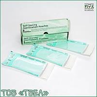Самогерметизирующиеся пакеты для паровой и ЭО стерилизации Steridiamond / 90х250 мм, 200 шт. ECS, фото 1