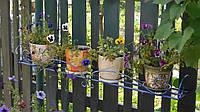 Подвесная подставка для горшочных цветов