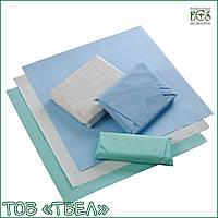 Лист крепированной бумаги для стерилизации / 40х40 см, зеленый, 1000 шт. ECS