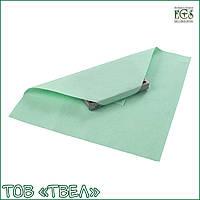 Лист крепированной бумаги для стерилизации / 75х75 см, зеленый, 250 шт. ECS