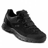 Тактические патрульные кроссовки с вставками Cordura черные