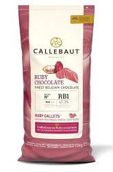 Шоколад Callebaut Ruby 47%,10кг.