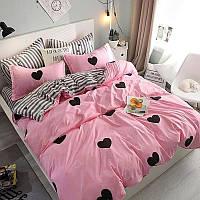 Качественное постельное белье Счастливчик, полуторный комплект