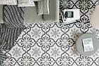 Плитка для пола marrakesh серый 186x186x8 мм, фото 5