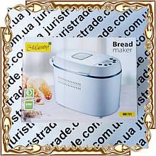 Хлебопечь Maestro MR-751 (12 программ/ вес хлеба: 900-1350 г.) 730-870 Вт.
