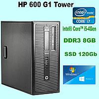 Системный блок HP 600 G1 (Tower)  Intel® Core™ i5-4440 \ DDR3 8Gb \ SSD 120 (Нова) Gb k.9083