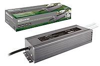 Блок питания 200Вт-12В-IP67 для светодиодных лент и модулей DC 12В, металл TDM