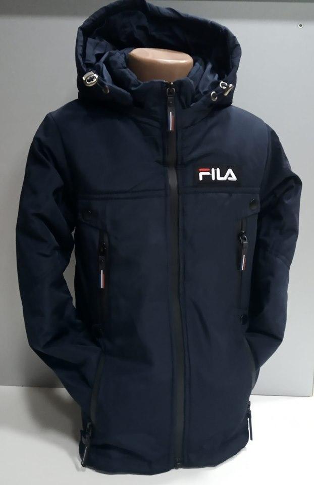 Дитячі осінні куртки для хлопчика Филс. 6-7 років.