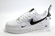 Белые мужские кроссовки в стиле Nike Air Force 1 '07 Lv8 Utility, White, фото 2