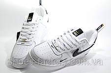 Белые мужские кроссовки в стиле Nike Air Force 1 '07 Lv8 Utility, White, фото 3