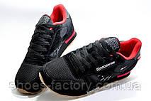 Кроссовки мужские в стиле Reebok Classic Leather since 1983, Black\Red, фото 2
